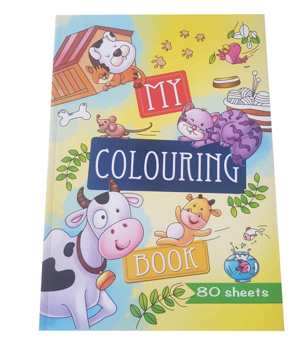 Kleurboek Dieren – 'My Colouring Book'