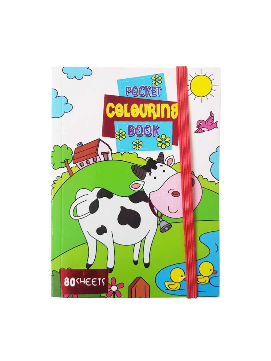 Pocket Kleurboek Dieren – 'Pocket Colouring Book'