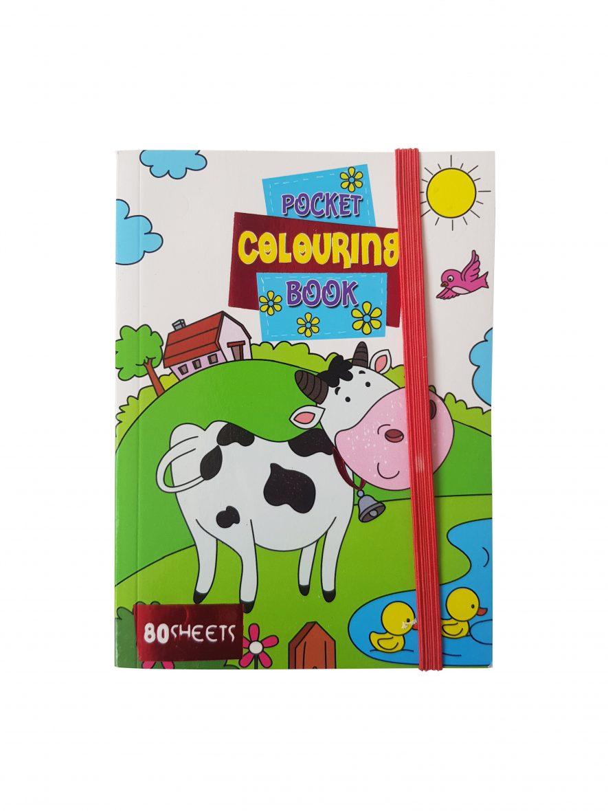 Kleurboek – Pocket Colouring Book – Dieren