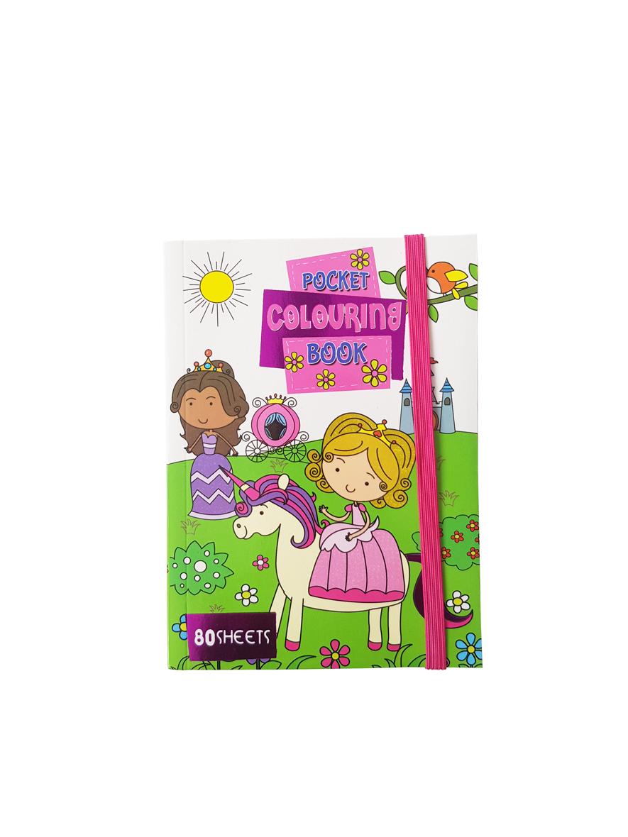 Pocket Kleurboek Prinsessen – 'Pocket Colouring Book'