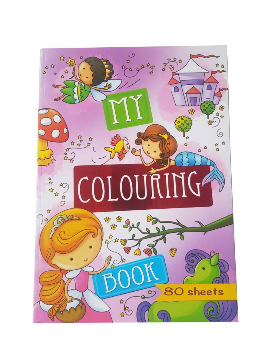 Prinsessen Kleurboek – 'My Colouring Book'