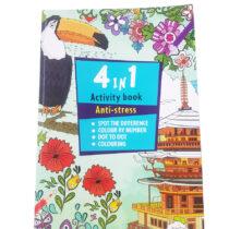 Anti Stress Kleurboek