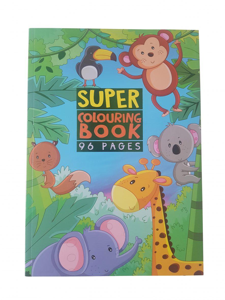 Kleurboek – Super Colouring Book – Jungle