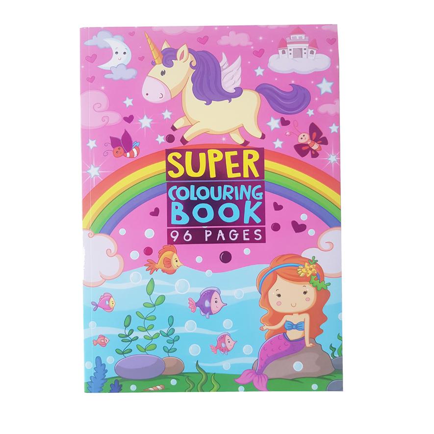 Kleurboek Prinsessen – 'Super Colouring Book'