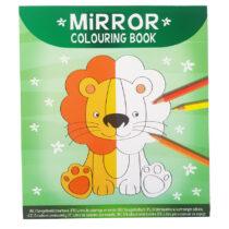 Spiegelbeeld Kleurboek Dieren