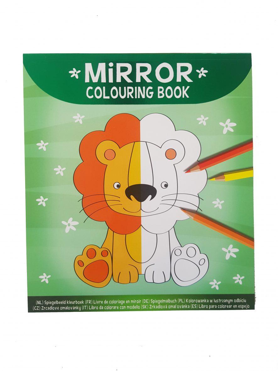 Mirror Colouring Book – Dieren