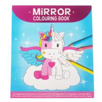 Spiegelbeeld Kleurboek Eenhoorns