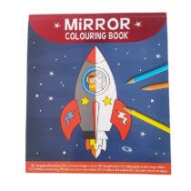 Spiegelbeeld Kleurboek Ruimte