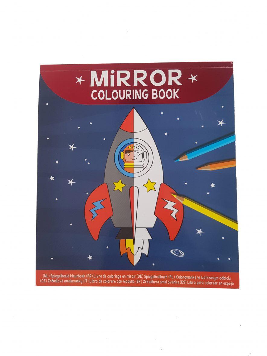 Mirror Colouring Book – Ruimte