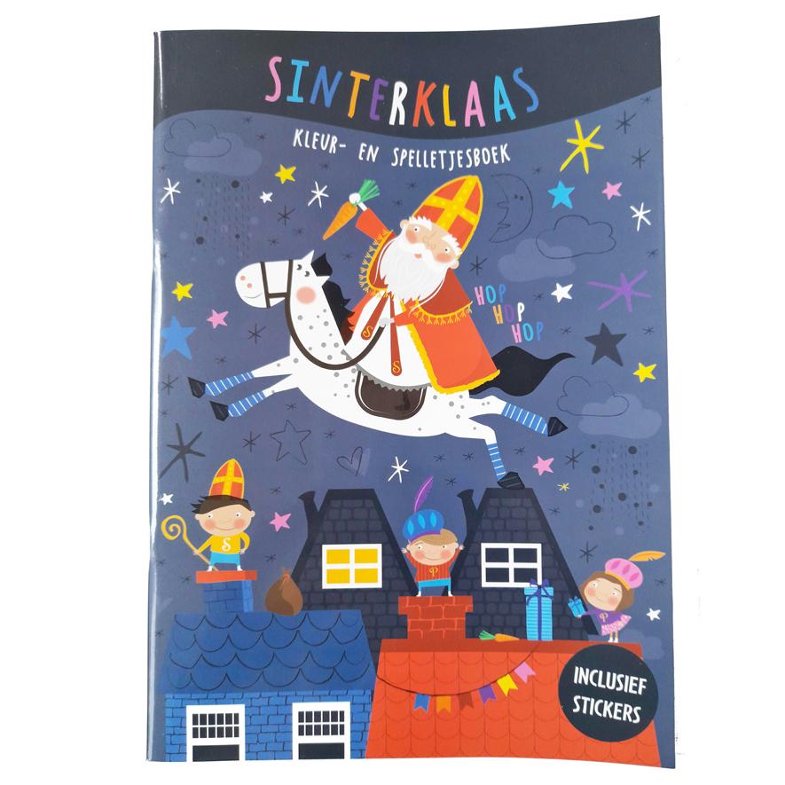Sinterklaas Kleurboek / Activiteitenboek
