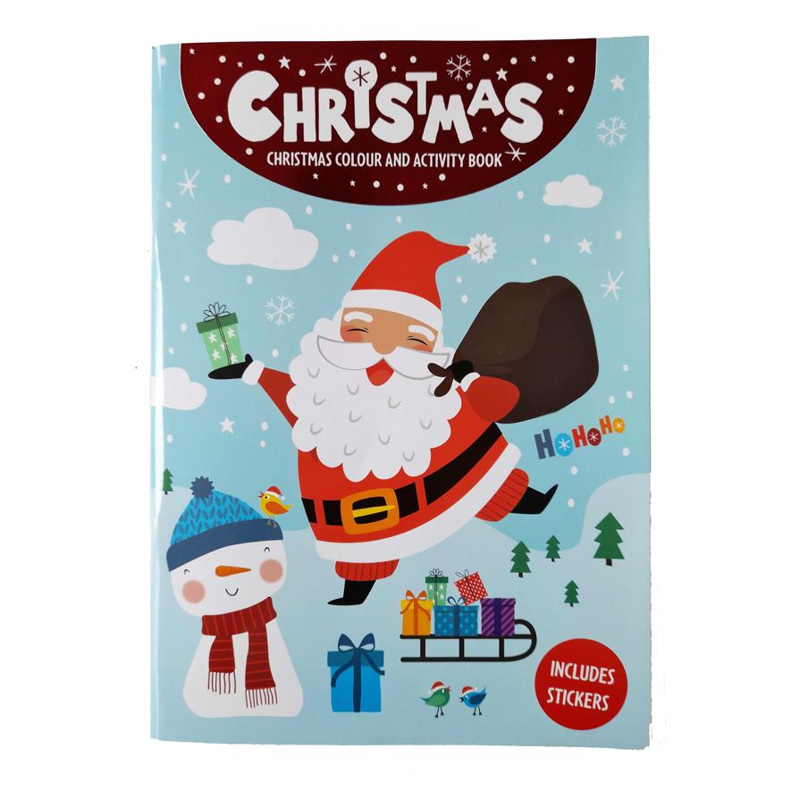 Kerst Kleurboek / Activiteitenboek