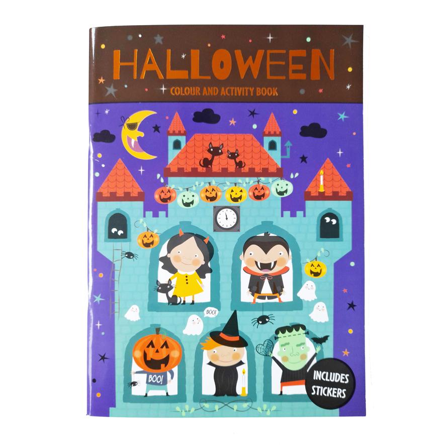 Halloween Kleurboek / Activiteitenboek