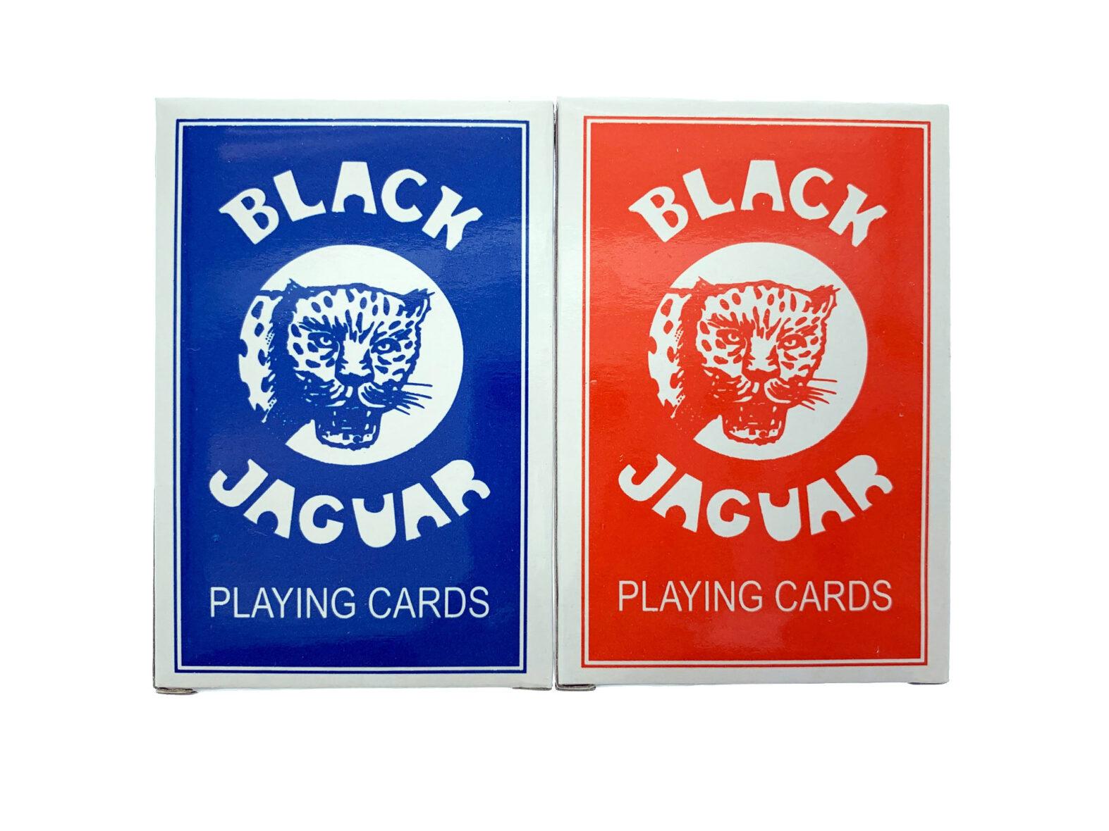 Black Jaguar Speelkaarten – Duo Set