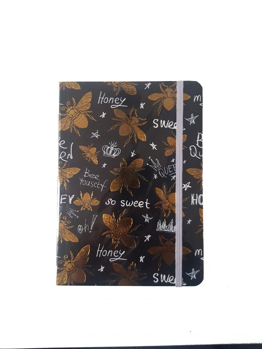 Notitieboek met Elastiek – Bijen
