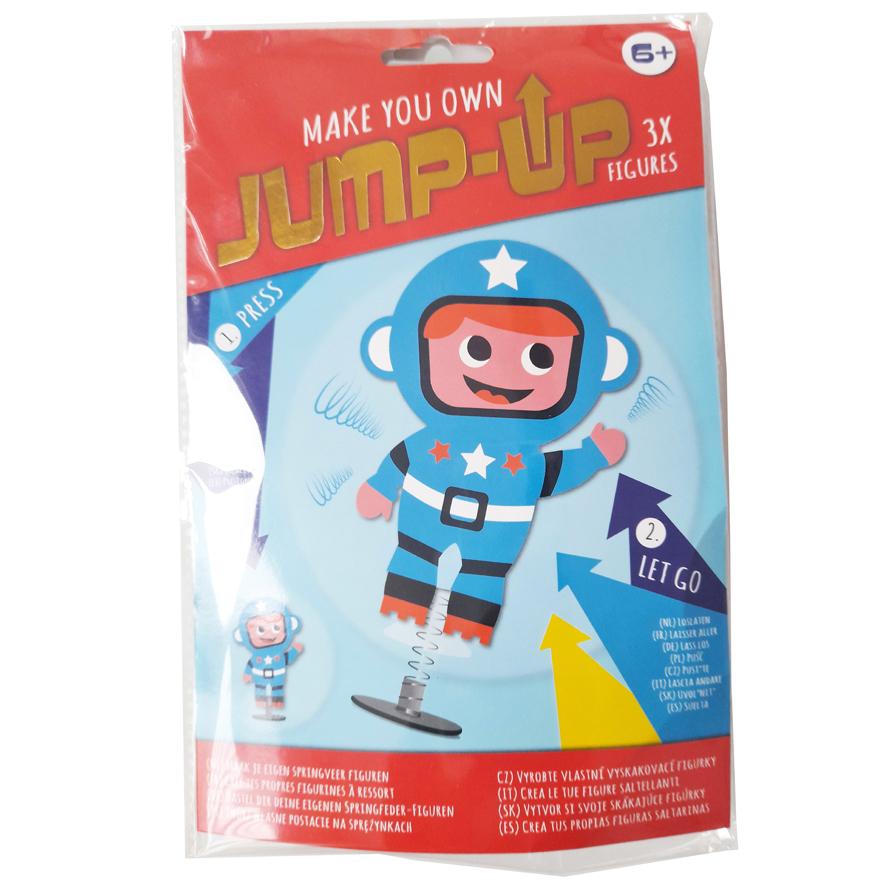 Maak je Eigen Jump-Up Springfiguur – Astronaut