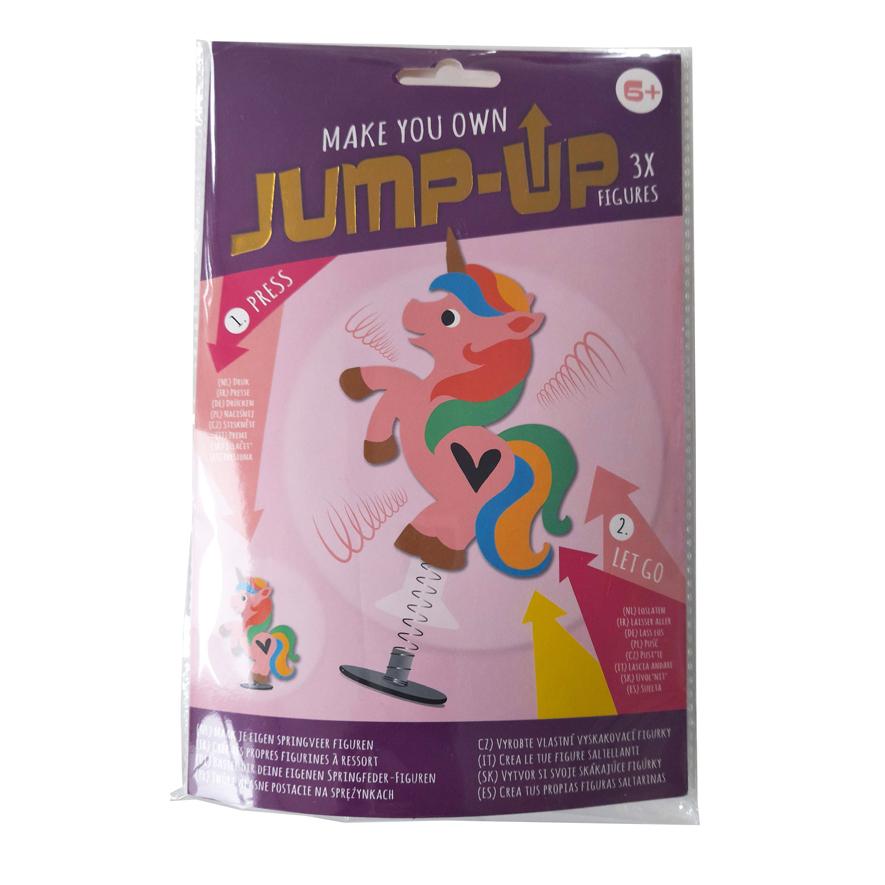 Maak je Eigen Jump-Up Springfiguurt – Eenhoorn