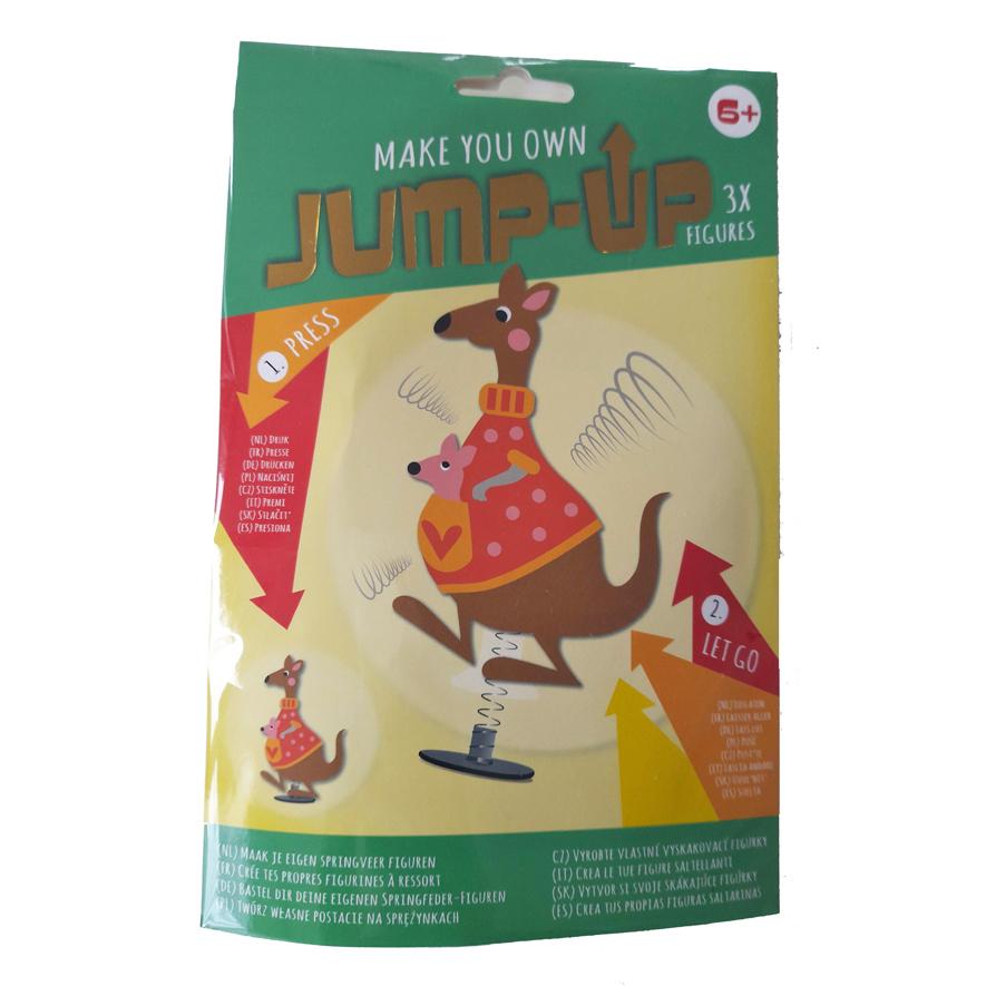 Maak je Eigen Jump-Up Springfiguur – Kangoeroe