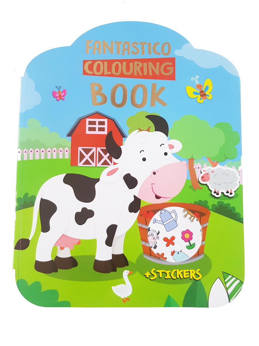Kleurboek Boerderij – 'Fantastico Colouring Book'