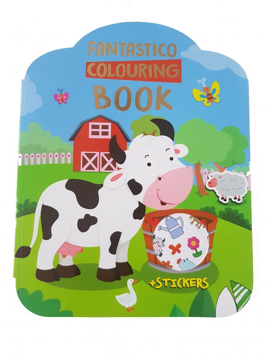 Kleurboek – Fantastico Colouring Book – Boerderij