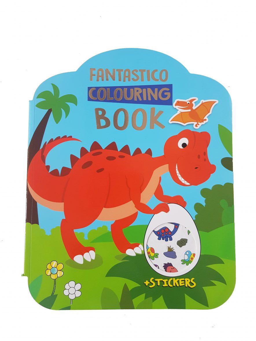Fantastico Colouring Book – Dino's
