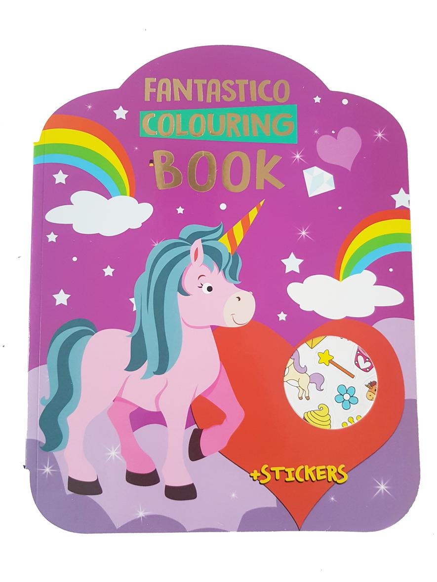 Eenhoorn Kleurboek – 'Fantastico Colouring Book'