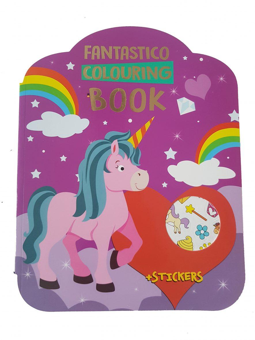 Kleurboek – Fantastico Colouring Book – Eenhoorns