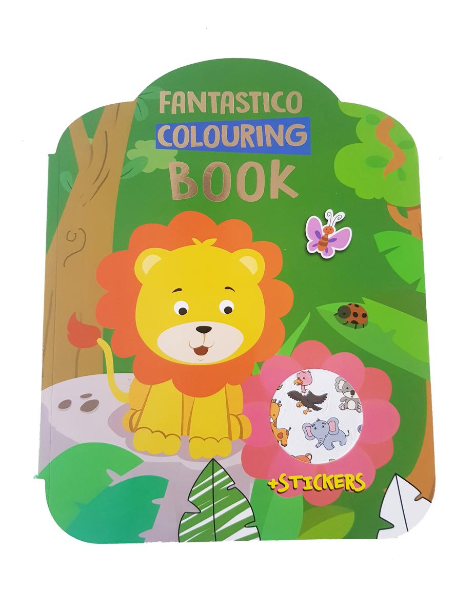 Safari Kleurboek – 'Fantastico Colouring Book'