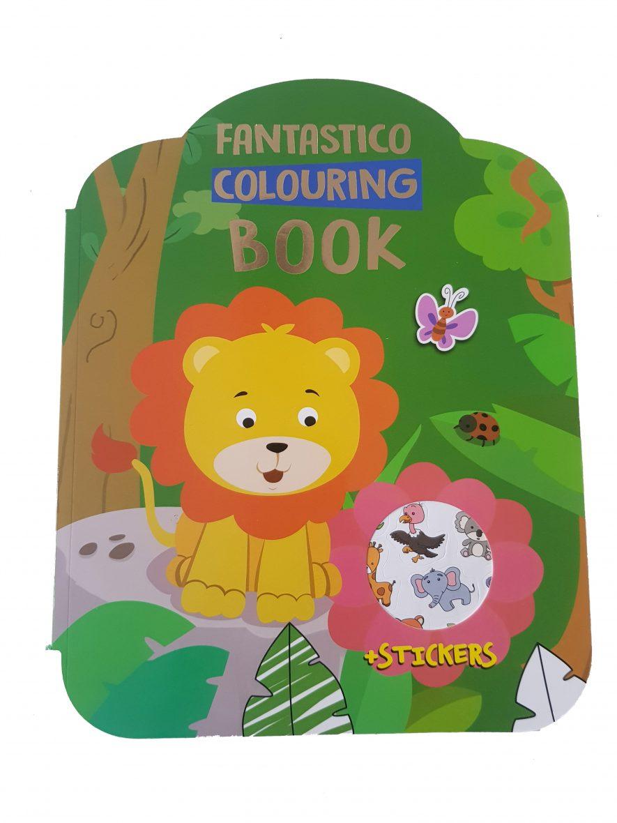 Kleurboek – Fantastico Colouring Book – Safari