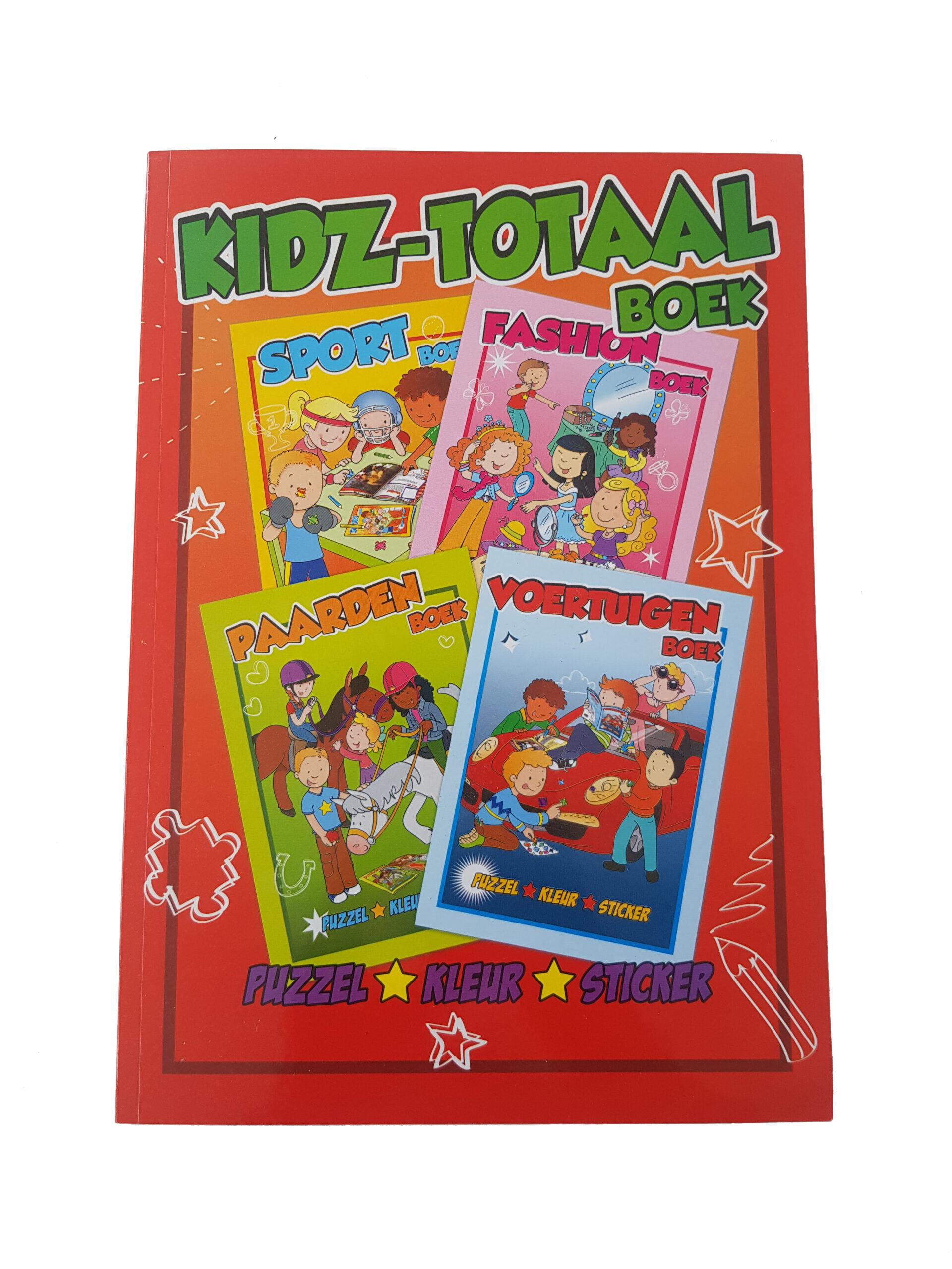 Vakantie Kleurboek – 'Kidz Totaal Boek'