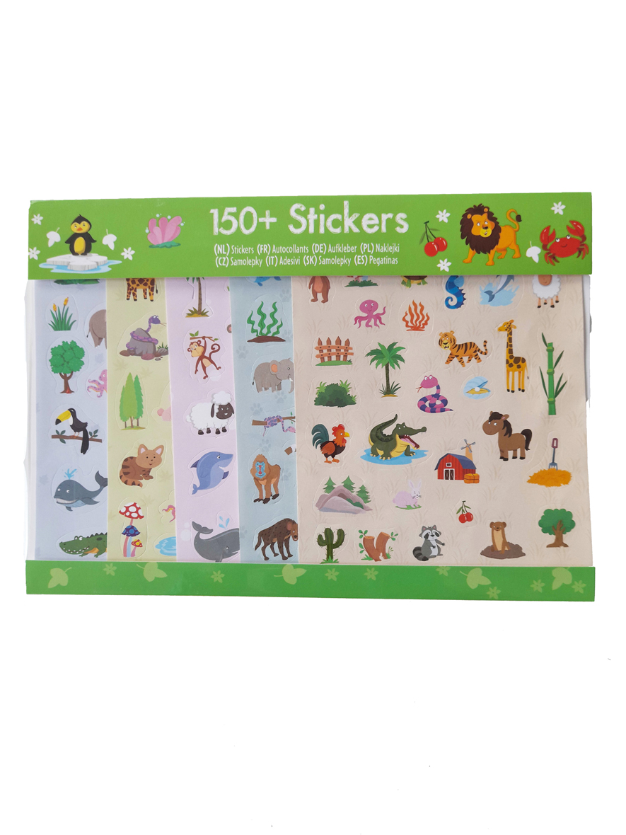 Jungle Stickers – 5 vellen