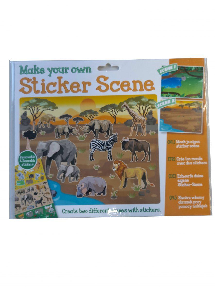 Maak je Eigen Sticker Scene – Safari